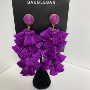 BaubleBar Purple Earrings